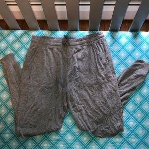 Express ripped joggers